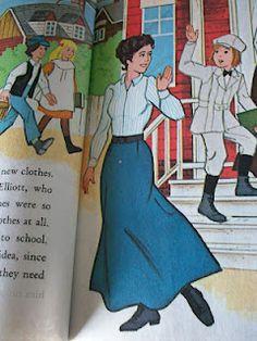 Feminine Inspiration from Vintage Children's Books