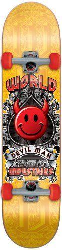 World Industries Devilman Crest Skateboard Complete by World Industries. $61.76. World 99a Wheels. Save 20% Off!