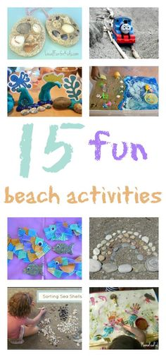 15 super seaside activities to try Beach Activities, Fun Activities For Kids, Outdoor Activities, Daycare Crafts, Preschool Crafts, Summer Crafts, Summer Fun, Art For Kids, Crafts For Kids