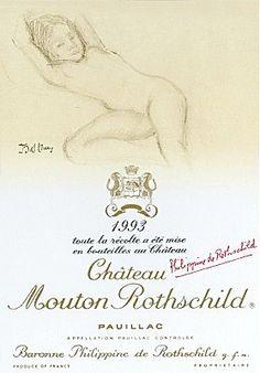 Château Mouton Rothschild 1993 - Pauillac / Bordeaux / France