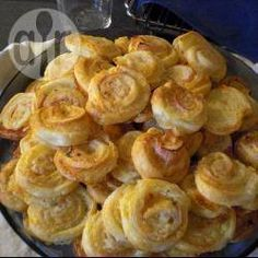 Blätterteigschnecken mit Käse @ de.allrecipes.com