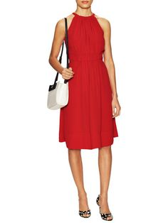 Fluid Crepe Tie Back Dress by kate spade new york at Gilt