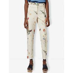 Cigarette Trousers, Topshop, Floral Prints, Pajama Pants, Pajamas, Clothes For Women, Model, Shopping, Fashion