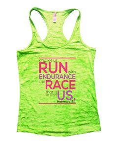 Run Endurance Race Us Burnout Tank Top By Funny Threadz - 1036
