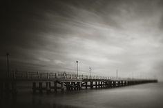 the old pier in Forte dei Marmi by Alessandro Chiarini