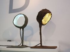 "LED light works titled""Luciferase""  by Spanish designerNacho Carbonell."
