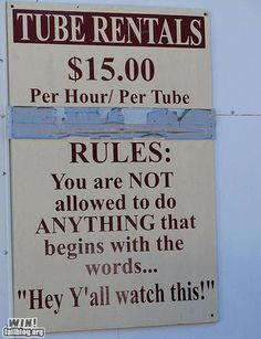 I need a pool and then ill need this sign :)