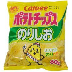 Calbee Chips Salty Seaweed 2.11 oz