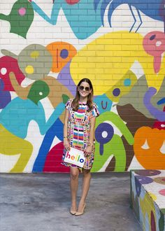 Street art and women's style