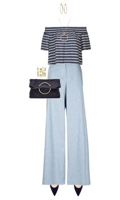"""""""Blues"""" by ittie-kittie ❤ liked on Polyvore featuring Paul Andrew, Novis, Topshop, Victoria Beckham, Accessorize, Ippolita, Étoile Isabel Marant and Blue"""