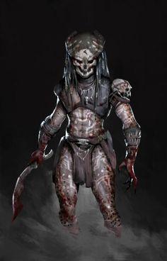 practice:Witch Predator , MK -19 on ArtStation at https://www.artstation.com/artwork/xyqXm