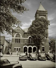 Marietta, ca. 1943. Cobb County Courthouse.