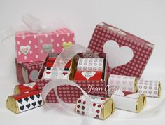 Nuggets of Love: Templates for Candy  Wrappers & Gift Box