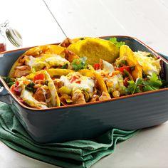 Recept week 20: Mexicaanse groente taco met kip