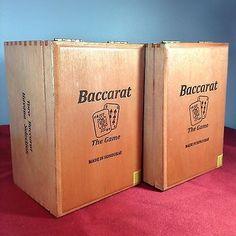 #BaccaratCigarBox #THEGAME #GamblerStashBox #AlteredCigarBox #CigarBoxAmp #CigarBoxiPodSpeaker #CigarBoxLamp #eBay #ShopMoMoMax.01