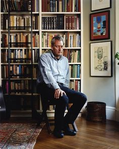 Paul Auster at home in Park Slope. FLP podcast: http://libwww.freelibrary.org/authorevents/podcast.cfm?podcastID=1009