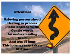 Grieving person ahead Healing in process | The Grief Toolbox
