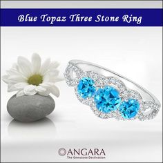 Are you ready to light up your Christmas party? Consider color saturated blue topaz jewelry to bring out your shining guiding light to your holiday style.  The original December birthstone (second is Tanzanite), blue topaz with its vibrant, icy-blue hues offers a pleasant disposition. One of the m