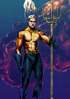 Aquaman by Kanno Ponta