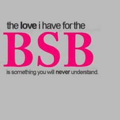 except @Mikal *, @Jennifer Calcara, @Erika DeVries, @Holly Kooienga  <3 lol did i miss anybody? haha who doesn't love the bsb?!!