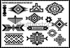 Find Navajo Native American Vector Pattern On stock images in HD and millions of other royalty-free stock photos, illustrations and vectors in the Shutterstock collection. Native American Patterns, Native American Images, Native American Symbols, Native American Design, Native Design, Native American Crafts, American Indian Art, American Indians, Native Symbols