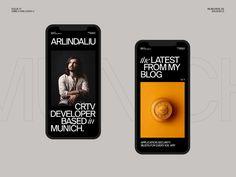 Arlind Aliu — Portfolio 001 by Rron Berisha on Dribbble