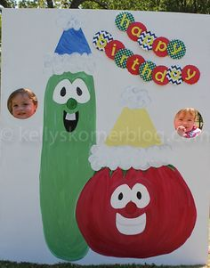 Veggie Tales birthday @Kacie Krueger
