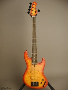 BOSSA Tribute Bass - Quilted Maple top/Basswood body/Bolt-on Maple Neck/ Rosewood board/Bossa Pu's & Preamp with Halftone Switch. Leo Fender, Custom Bass, Bass Guitars, Jazz, Instruments, Studio, Board, Modern, Projects