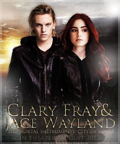 The Mortal Instruments Lilly Collins as Clary Fray & Jamie Campbell Bower Jace Wayland. She's the perfect clary, that hair! Immortal Instruments, Mortal Instruments Books, Shadowhunters The Mortal Instruments, Clary E Jace, Clary Fray, Jace Wayland, Percy Jackson, To The Bone Movie, Hush Hush