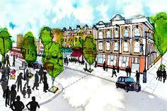 City planning Illustration