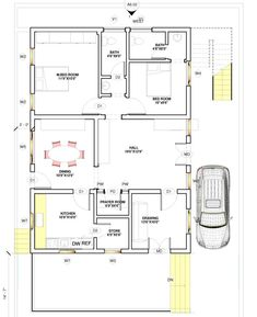 Impressive 30 X 40 House Plans 7 Vastu East Facing House Plans