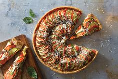Cooking Class: Tomato and Zucchini Tart - Bethesda Magazine - September-October…