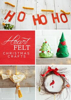 Create a warm and cozy look in your home this holiday season with these Heartfelt Christmas Crafts from Think.Make.Share, a blog from the Creative Studios at Hallmark. These decor ideas are wonderful to make together as a family!