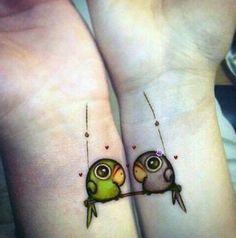 12 tatuajes increíbles para las parejas - Taringa!