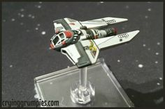 Black Sun M3A repainted for X-wing miniature game by Darth Grumpy