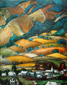 Marc- Aurele Fortin is known and admired as the great champion of the Quebec landscape painters. Watercolor Landscape, Landscape Art, Landscape Paintings, Landscapes, Watercolour, Montreal Museums, National Art, Building Art, T Art