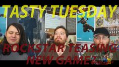 Tasty Tuesday: Rockstar teasing new game?