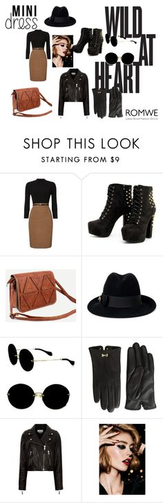 """""""Wild mini work outfit"""" by lewiscarrol ❤ liked on Polyvore featuring Phase Eight, Gucci, Miu Miu, Ted Baker, Étoile Isabel Marant and Christian Dior"""