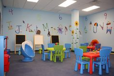 Image Of Daycare Room Decor Chairs Setup School Design