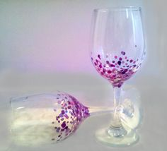 painted wine glass by brushes with a view wine glass glasses and painted wine glasses - Wine Glass Design Ideas