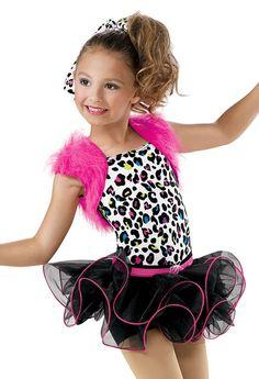 Girls' Animal Print Dress; Weissman Costumes