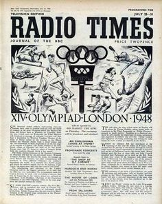 La programación de la BBC durante los Juegos del 48.
