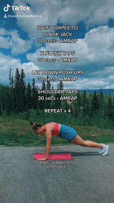 Body Workout At Home, At Home Workout Plan, At Home Workouts, Amrap Workout, 15 Minute Workout, Post Workout Snacks, Fitness Tips, Fitness Workouts, Health Fitness