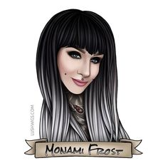 More from our model art done by Today's is in Classic Silver Ombre - love it! Lush Wigs, Silver Ombre, Monami Frost, Model Art, Disney Characters, Fictional Characters, Disney Princess, Classic, Anime