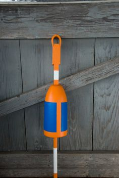 Hand-painted, custom lobster buoy by @lilylinqs // Gloucester, MA // http://gloucestergoods.com
