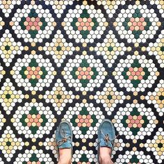 This week's #regram is for these gorgeous #tiles captured by @nicks_pics! #TileAddiction