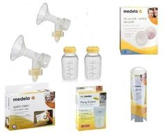 Medela Pump In style Breastpump Starter Set  For Regular and Advanced Medela Breastpumps *** Read more reviews of the product by visiting the link on the image-affiliate link.
