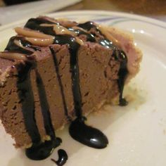 Chocolate Peanut Butter Pie  vegan, plantbased, earth balance, made just right