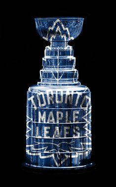 The Stanley Cup with vintage Maple leaf logo. Hockey Room, Hockey Baby, Ice Hockey, Hockey Girls, Montreal Canadiens, Toronto Maple Leafs Wallpaper, Wallpaper Toronto, Toronto Maple Leafs Logo, Nhl Hockey Jerseys