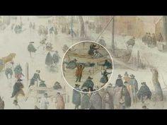 Topstukken van het Rijksmuseum  Winterlandschap met schaatsers van Hendr...